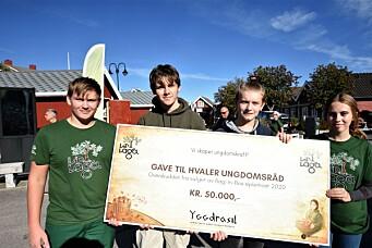 Nå kan Hvaler-ungdom søke om penger til drift eller oppstart av egne prosjekt